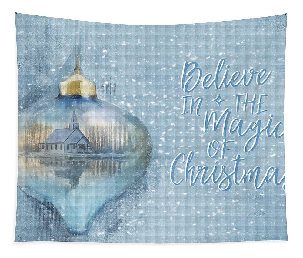 Believe In The Magic Tapestry featuring the photograph Believe In The Magic - Hope Valley Art by Jordan Blackstone