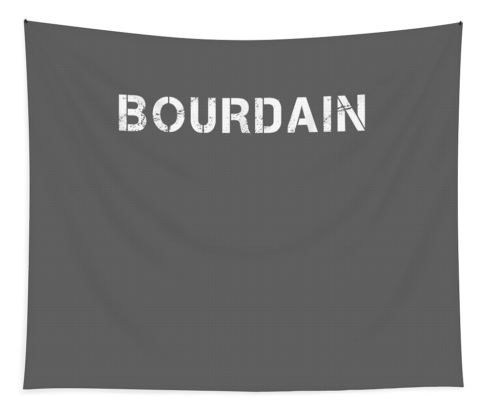 boys' Novelty Clothing Tapestry featuring the digital art Bourdain by Unique Tees
