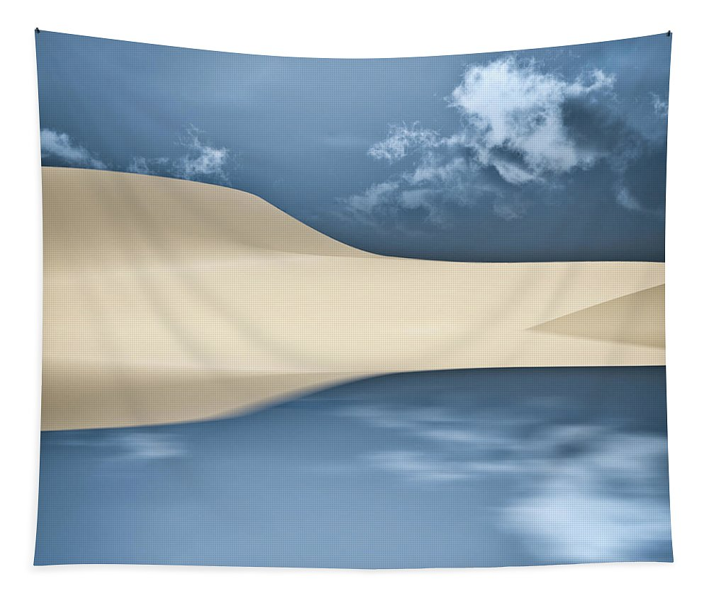 Cape Cod Tapestry featuring the photograph Cape Cod Reflections by Bob Orsillo