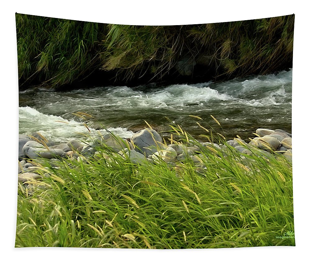 Water Tapestry featuring the photograph Cool Clear Water by Mike Braun