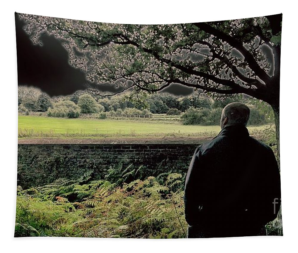 Man Tapestry featuring the photograph Edit This 4.2 by Charleen Treasures