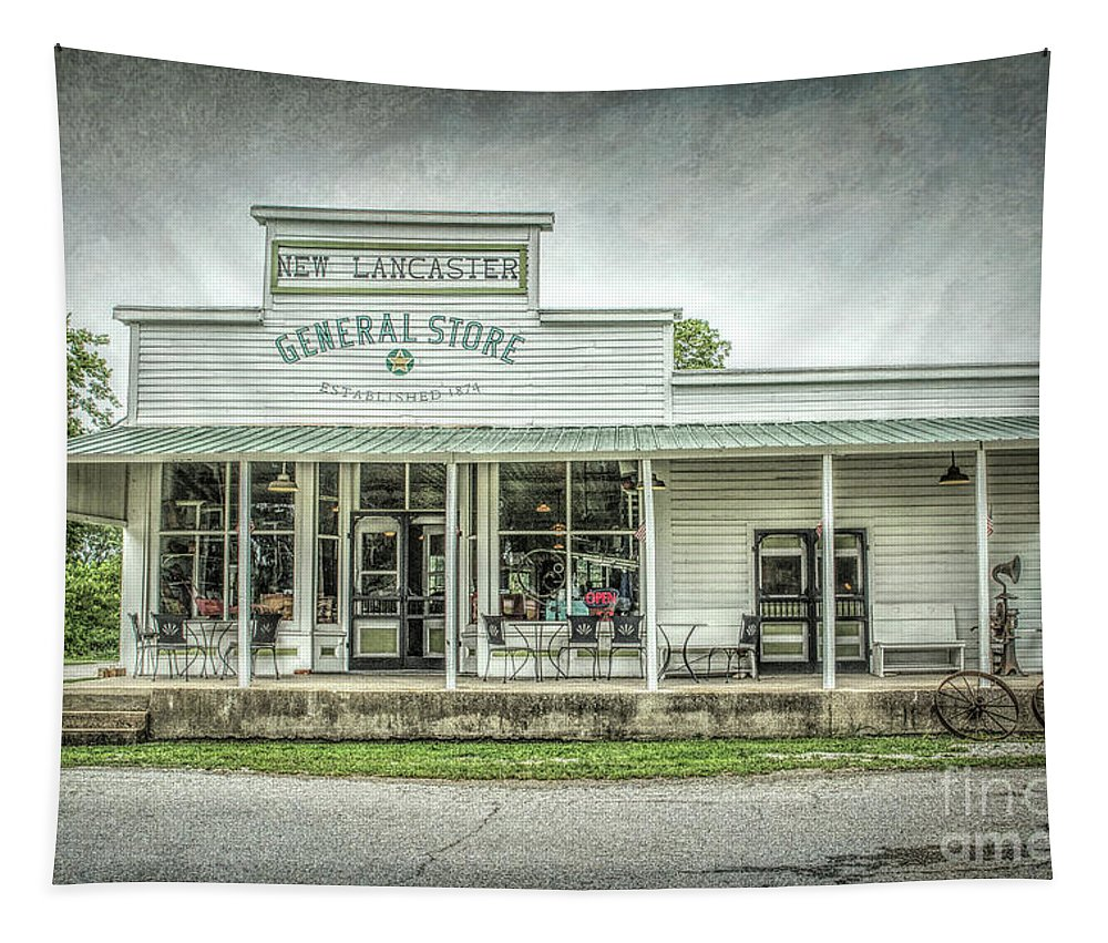 General Store Tapestry featuring the photograph General Store by Lynn Sprowl
