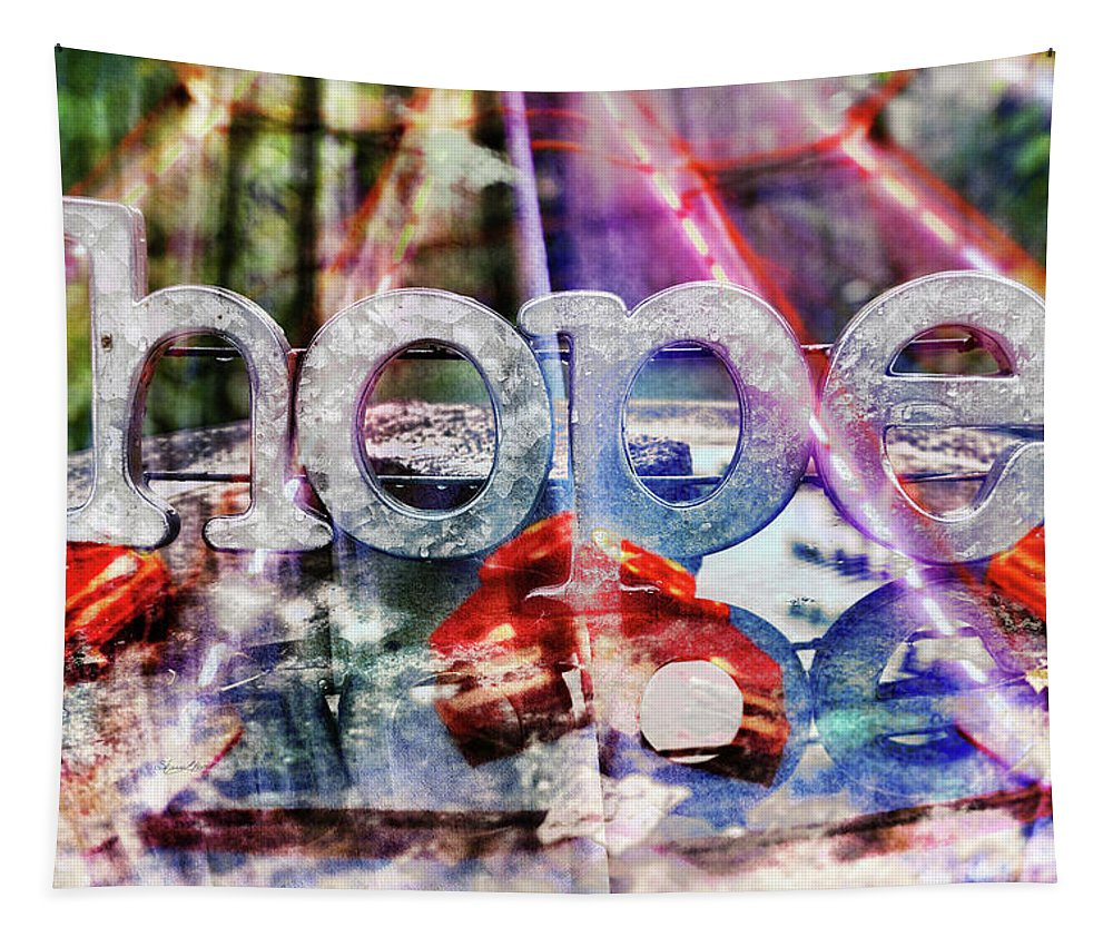 Hopeful Tapestry featuring the photograph Hopeful by Sharon Popek
