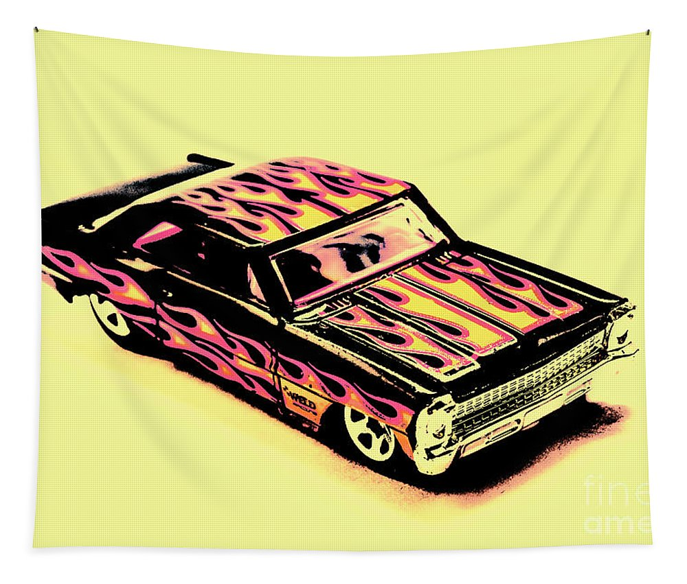 Classic Tapestry featuring the photograph Hot Wheels by Jorgo Photography - Wall Art Gallery
