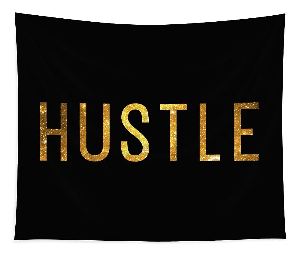 Hustle Tapestry featuring the digital art Hustle by Zapista OU