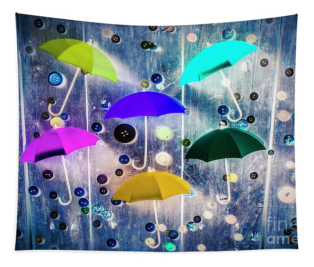 Artwork Tapestry featuring the photograph Imagination Raining Wild by Jorgo Photography - Wall Art Gallery