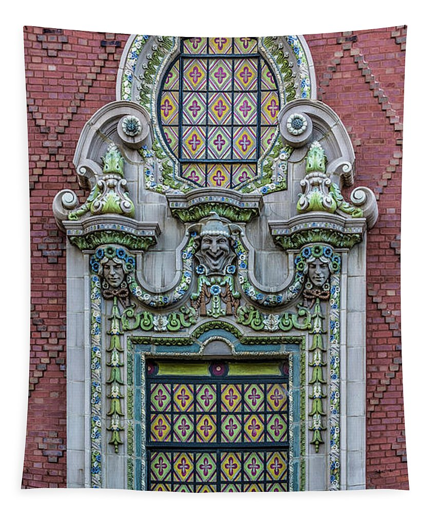 Chicago Tapestry featuring the photograph It Always Feels Like by Enzwell Designs