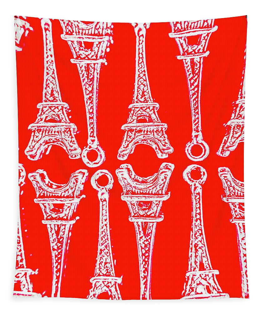 Europe Tapestry featuring the photograph Match Made In Paris by Jorgo Photography - Wall Art Gallery