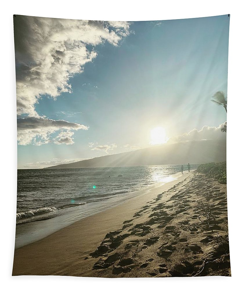 Hawaii Tapestry featuring the photograph Maui by Kristin Rogers