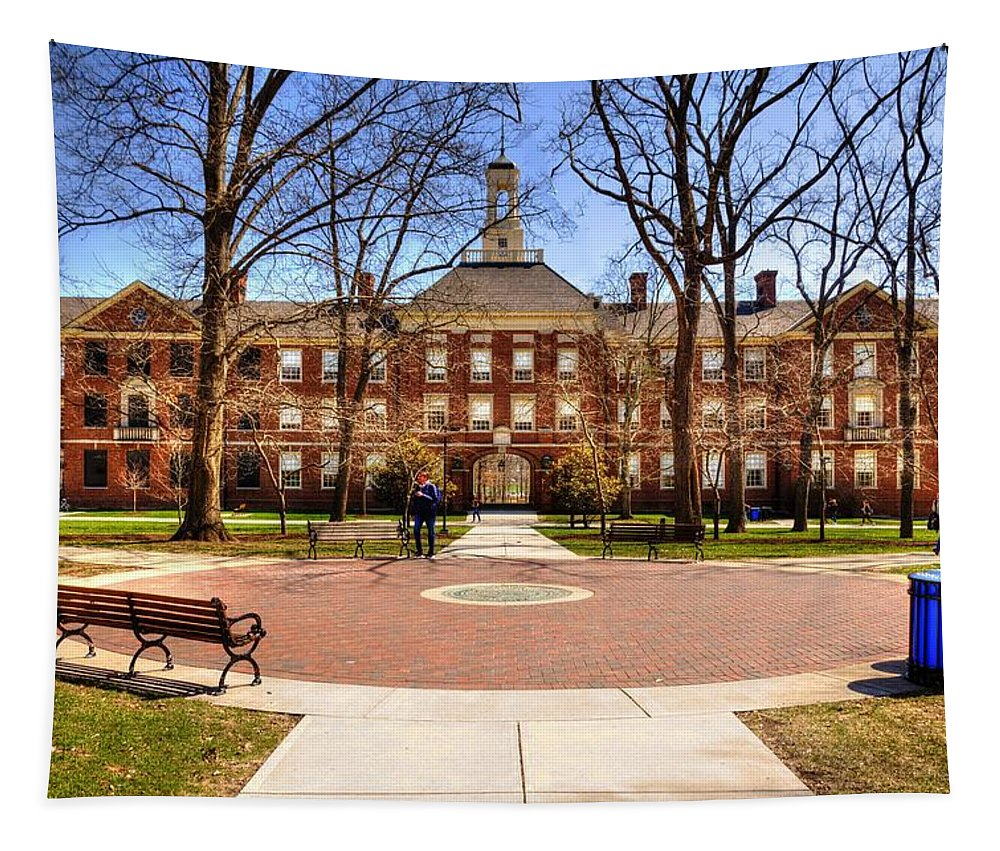 Miami University Tapestry featuring the photograph Miami Of Ohio University by Paul Lindner