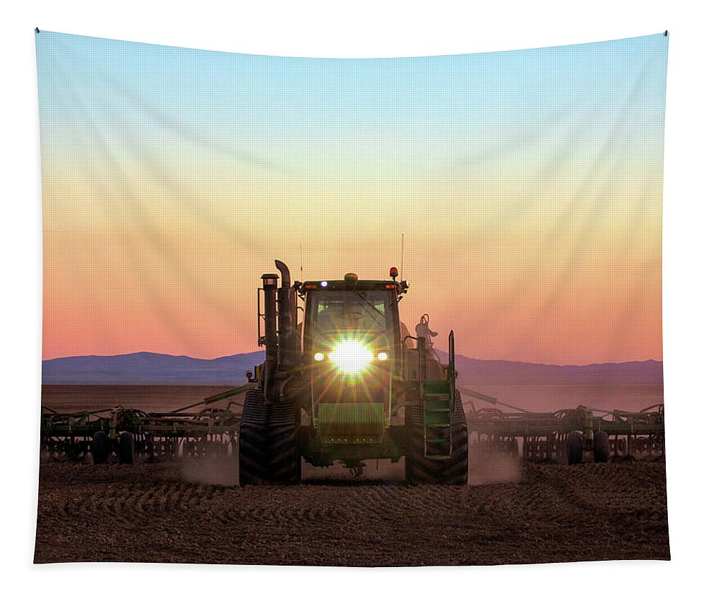 Organic Tapestry featuring the photograph One Headlight by Todd Klassy