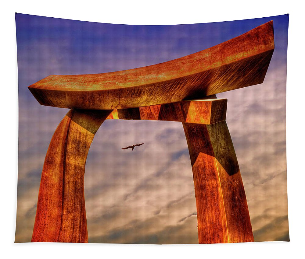 Photography Tapestry featuring the photograph Pi In The Sky by Paul Wear