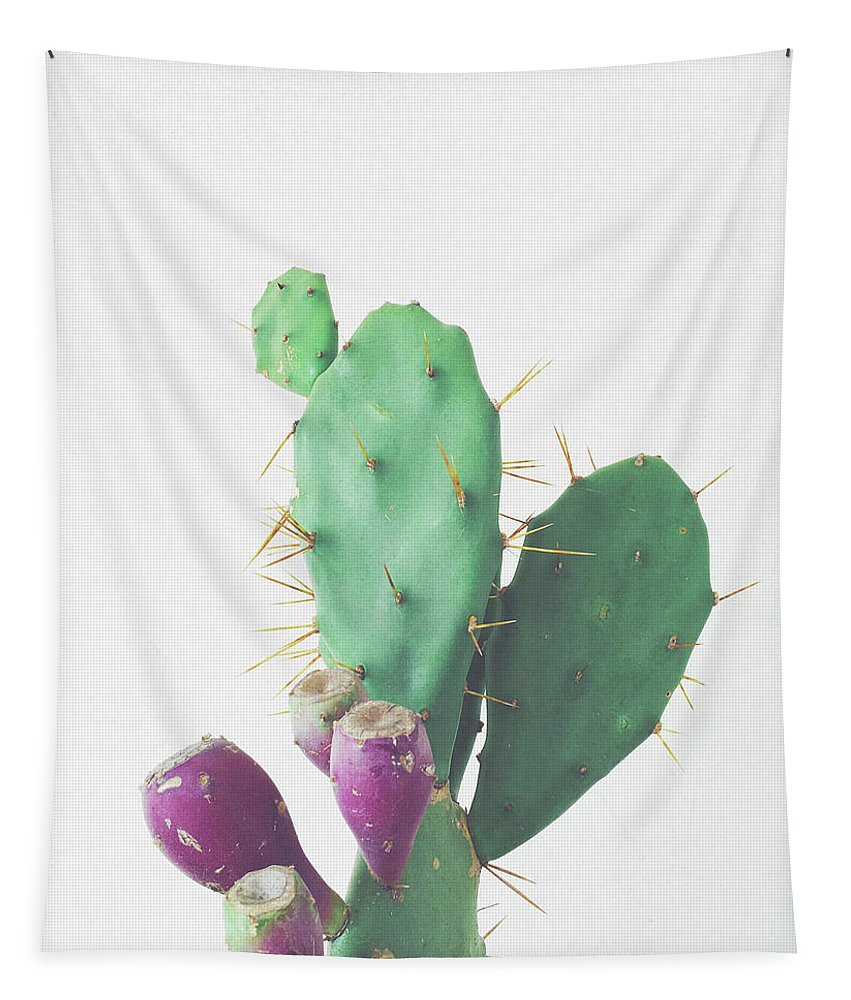 Cactus Tapestry featuring the photograph Prickly Pear by Cassia Beck