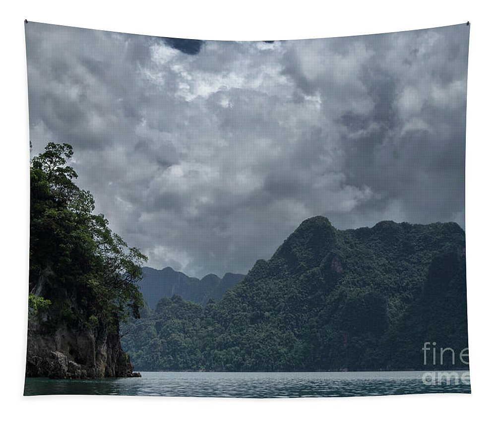 Michelle Meenawong Tapestry featuring the photograph Rainy Day by Michelle Meenawong