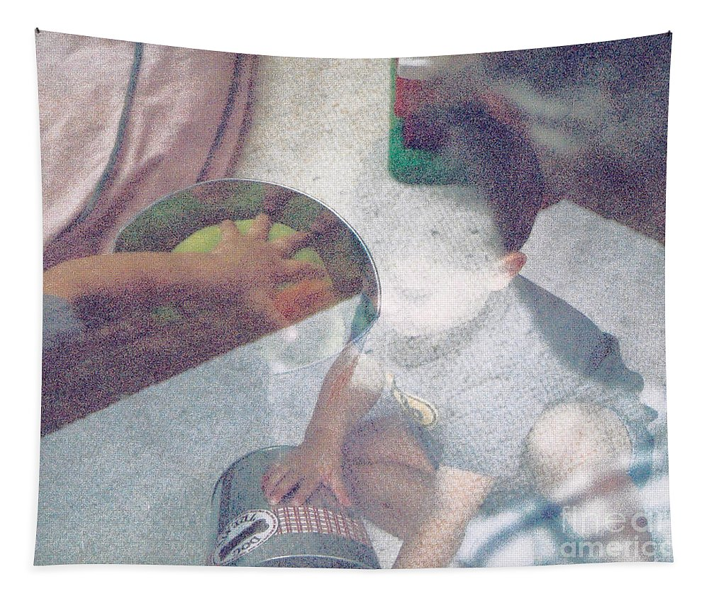 Child Play Tapestry featuring the photograph Relative Fun  Childhood by Kasha Baxter