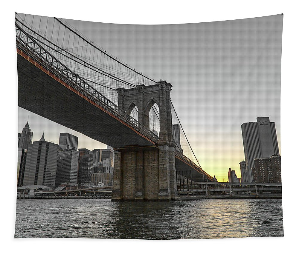 New Tapestry featuring the photograph Rising To The Top New York City by Betsy Knapp