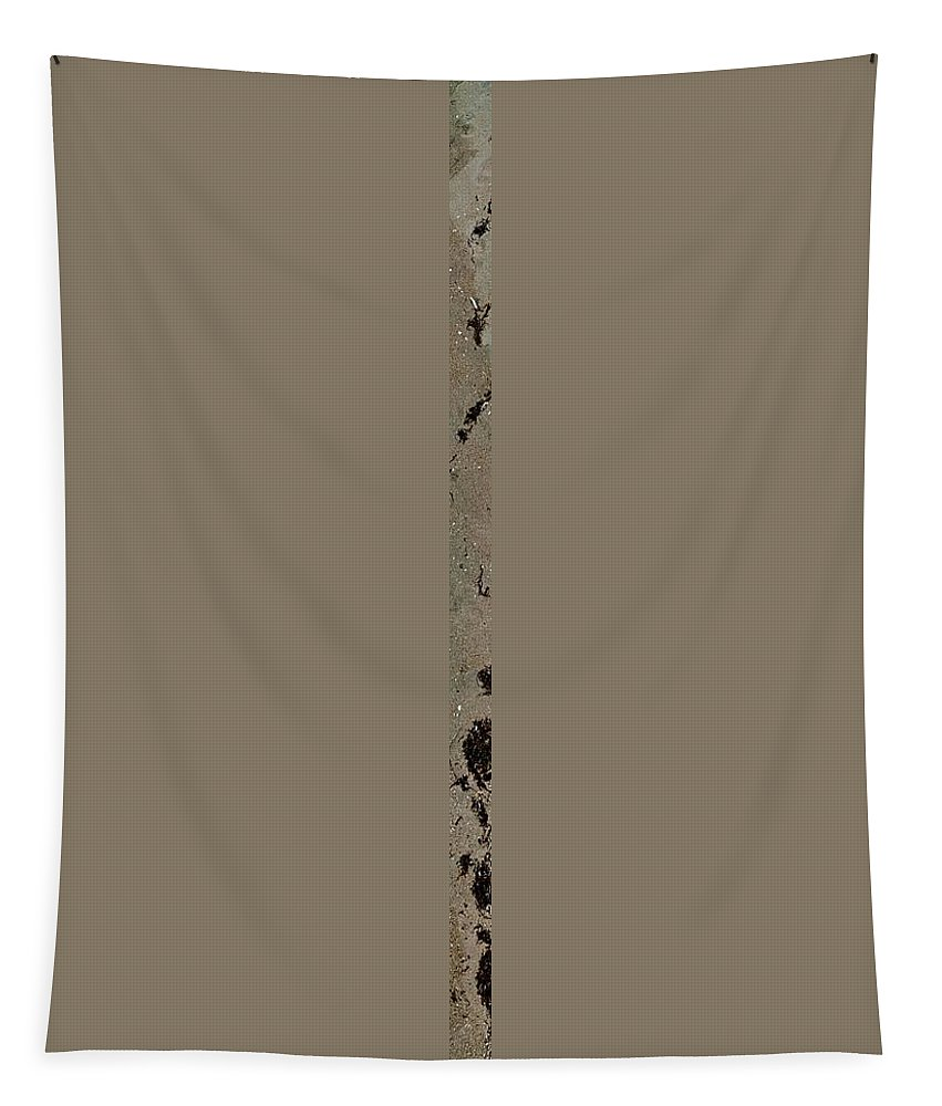 Uther Tapestry featuring the photograph Seaweed Border 1 by Uther Pendraggin