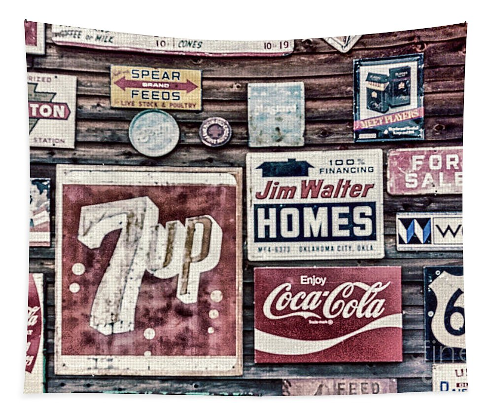 Signage Tapestry featuring the photograph Signage II by DiFigiano Photography