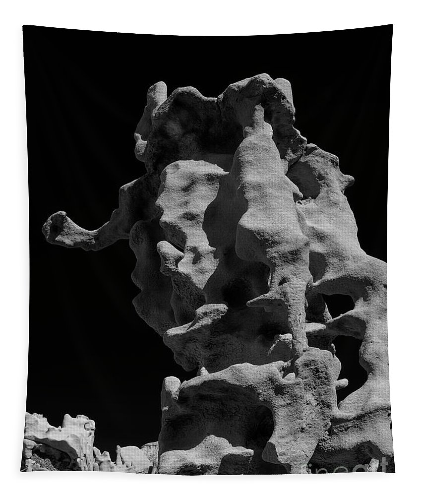 Fantasy Canyon Tapestry featuring the photograph Siltstone Curl by Mike Dawson
