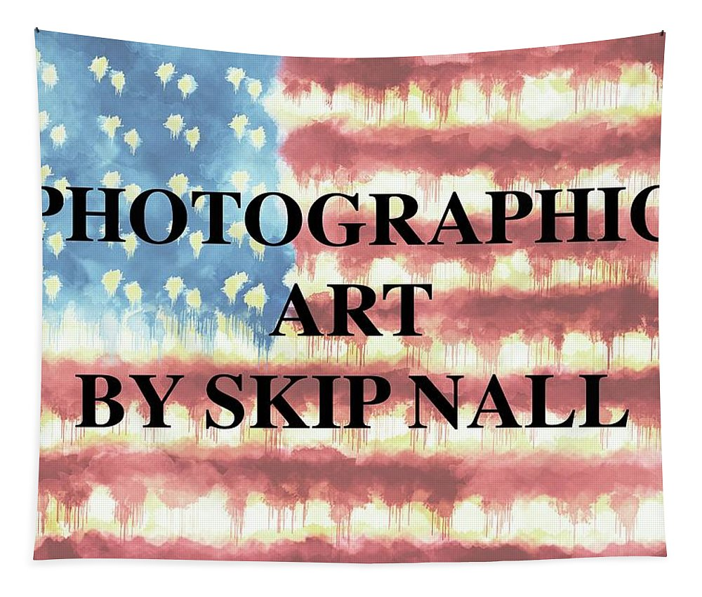 American Flag Tapestry featuring the photograph Skip Nall by Skip Nall