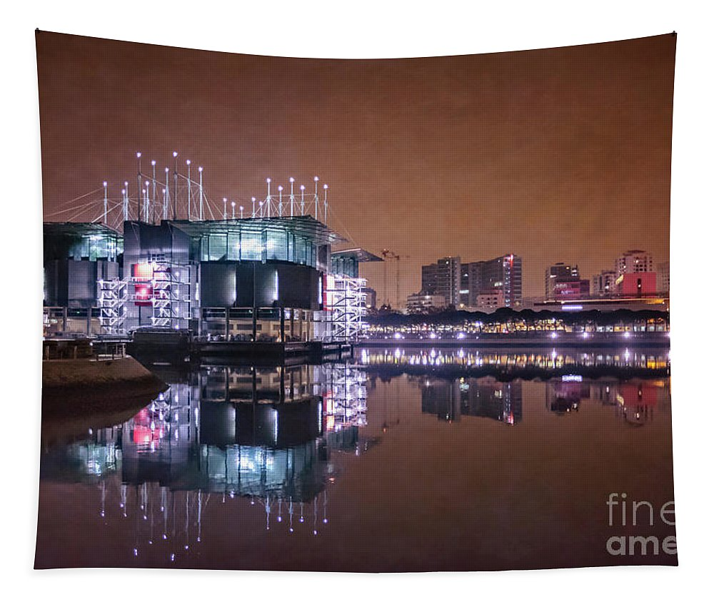Kremsdorf Tapestry featuring the photograph Take On The Dark by Evelina Kremsdorf
