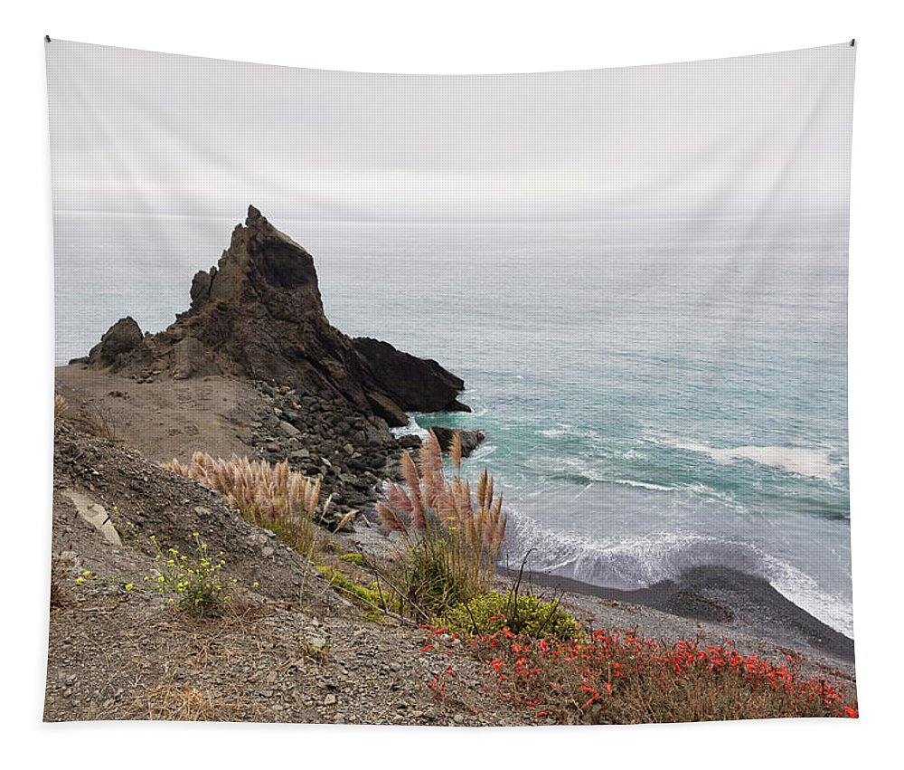 Big Sur Tapestry featuring the photograph The Beauty Of Big Sur by Penny Meyers