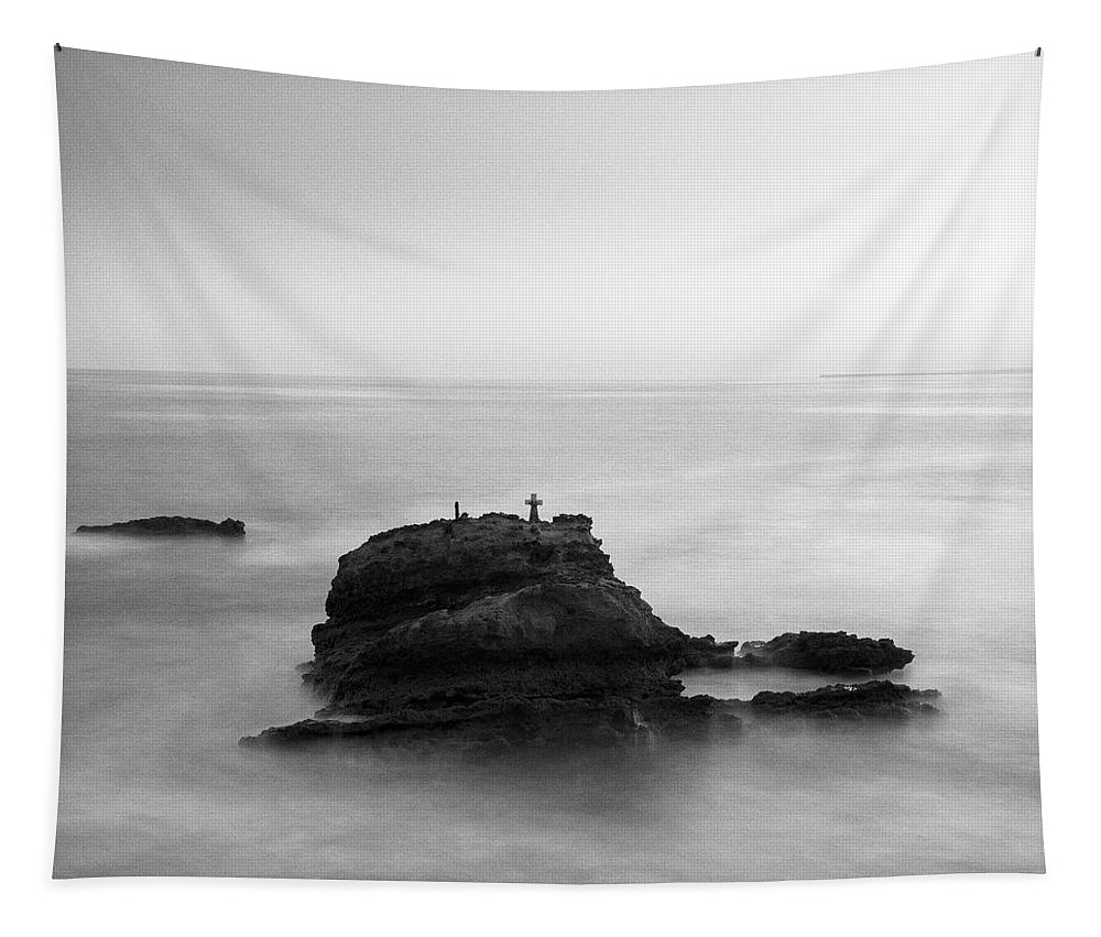 Fineart Tapestry featuring the digital art The Feeling Of Loneliness. by Dariusz Stec