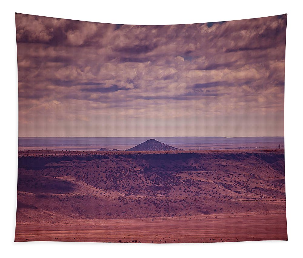 Titilla Tapestry featuring the photograph Titilla Peak by Keith Greenfield
