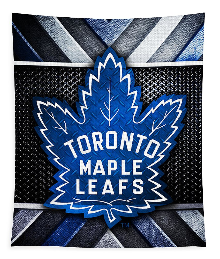 Toronto Maple Leafs Logo Art 1 Tapestry For Sale By William Ng