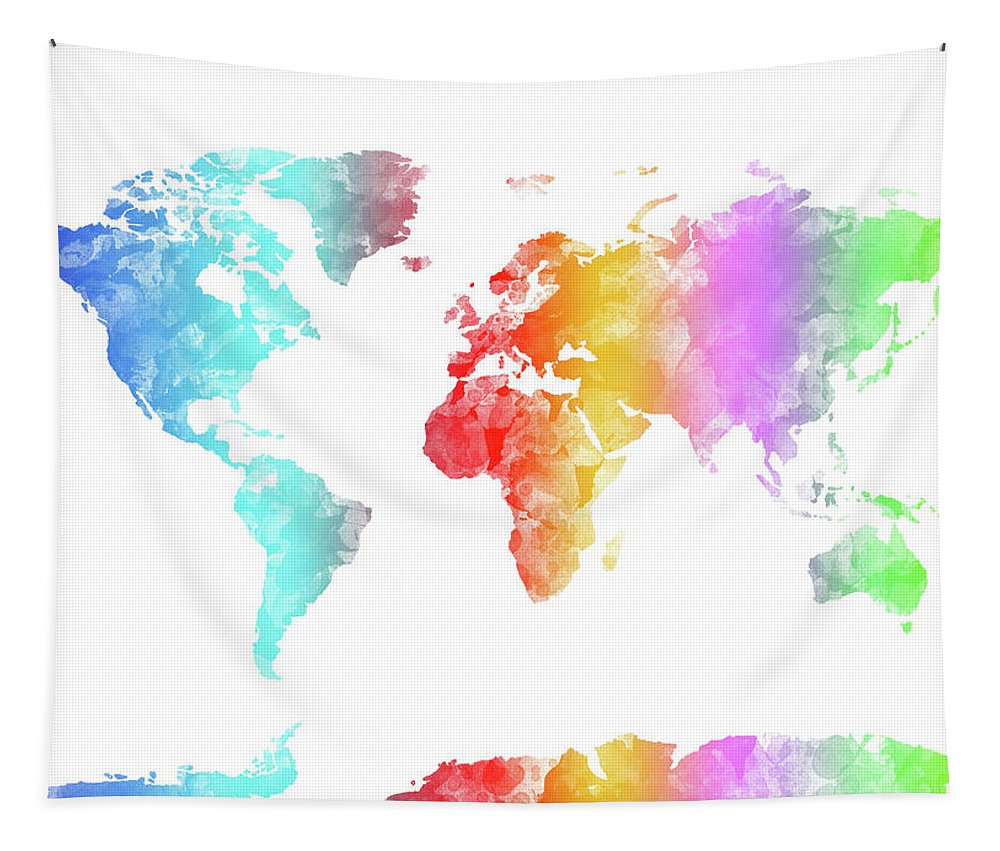 World Map Rainbow Watercolor Tapestry on world map tapestry urban outfitters, world map paintings, world map dresses, world map bedroom decor, world map blankets, world map patterns, world map canvas, world map mirrors, world map souvenirs, world map pillows, world map t-shirts, world map watercolors, world map calligraphy, world map wallpaper, world map photography, world map vases, world map drawings, world map tiles, world map gold, world map scarves,