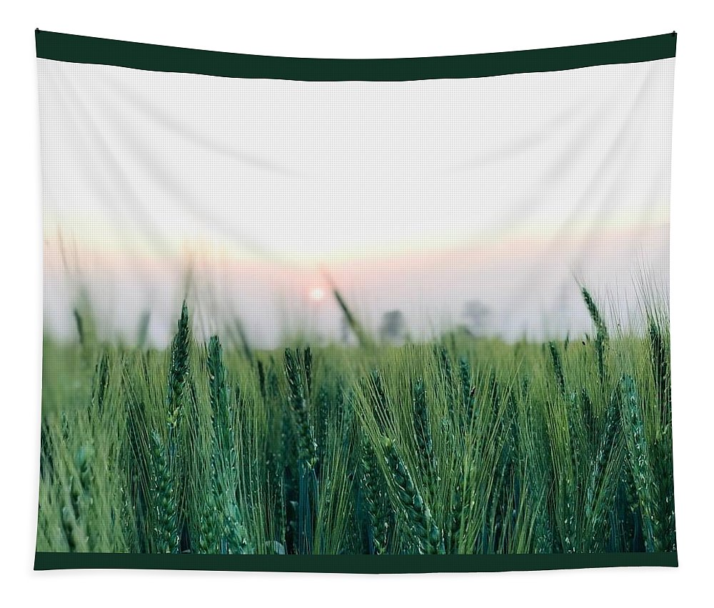 Lanscape Tapestry featuring the photograph Greenery by Prashant Dalal