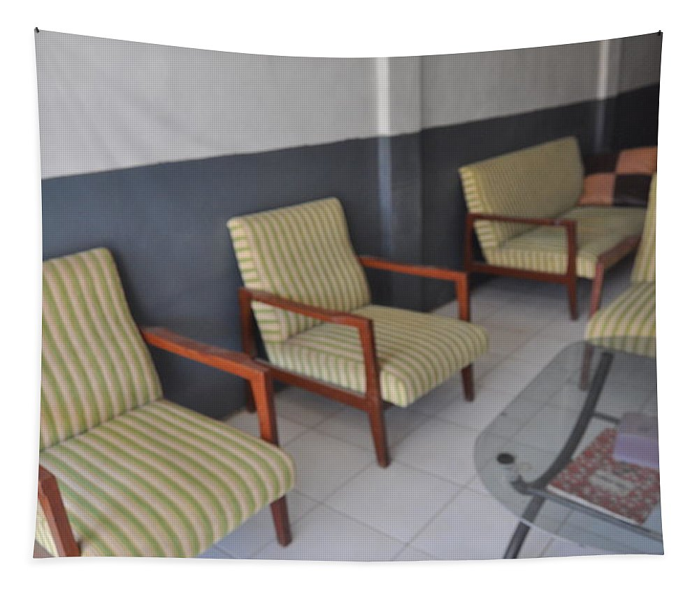 Chairs Tapestry featuring the photograph Living Room by Hilmi Abdul Azis Firmansyah