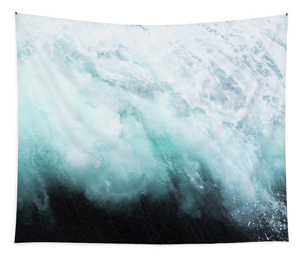 Ocean Tapestry featuring the photograph Ocean Spray by Cassia Beck
