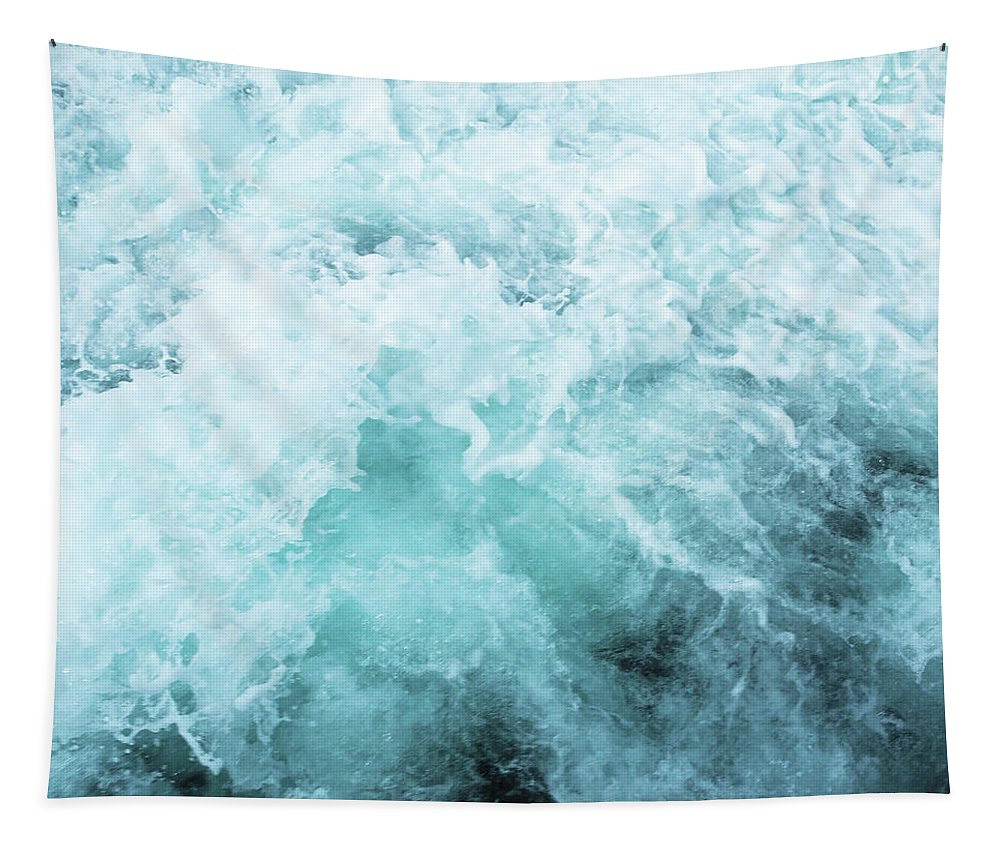 Ocean Tapestry featuring the photograph Ocean Spray III by Cassia Beck