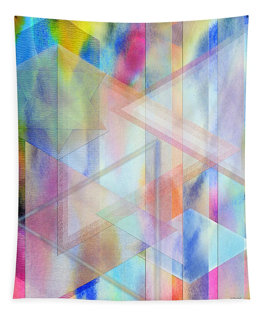 Pastoral Moment Tapestry featuring the digital art Pastoral Moment by John Robert Beck