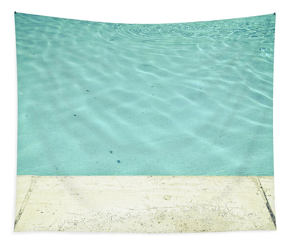 Swimming Pool Tapestry featuring the photograph Pool by Cassia Beck