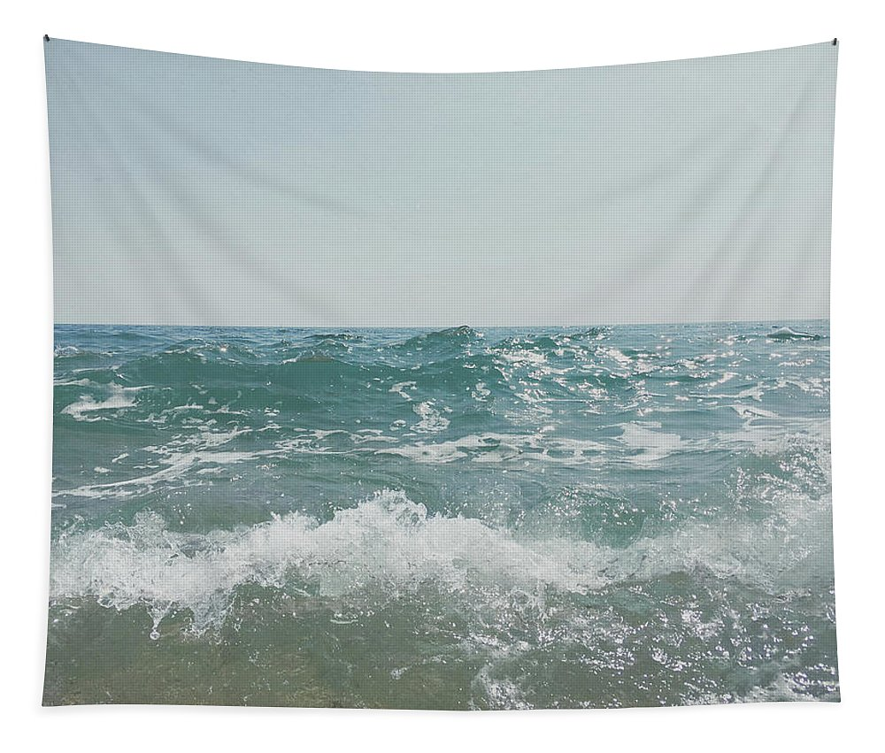 Sea Tapestry featuring the photograph Shore by Cassia Beck