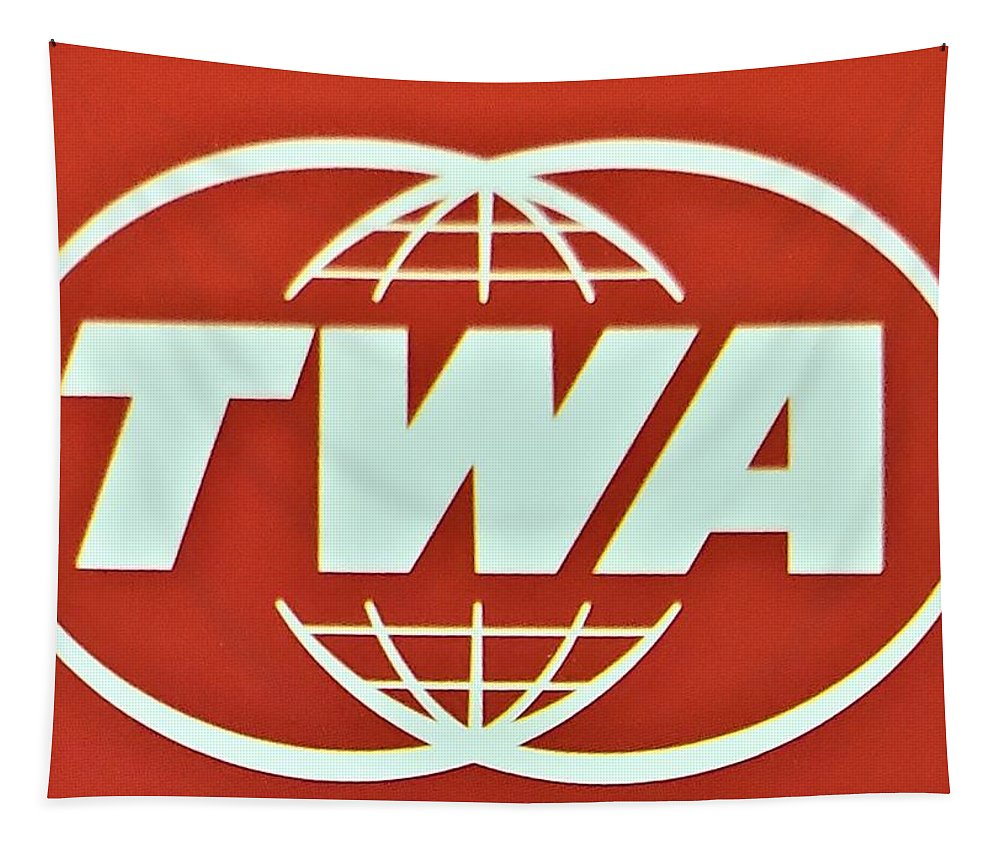 Twa Tapestry featuring the photograph T W A by Rob Hans