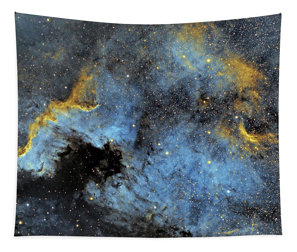 Nebula Tapestry featuring the photograph The North America Nebula by Prabhu Astrophotography