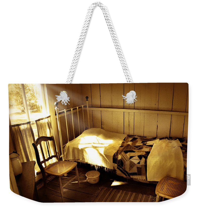 Bedroom Weekender Tote Bag featuring the photograph Dreams by Mal Bray