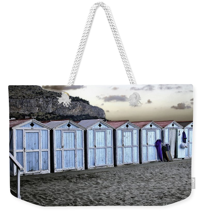 Beach Weekender Tote Bag featuring the photograph End Of The Day by Madeline Ellis