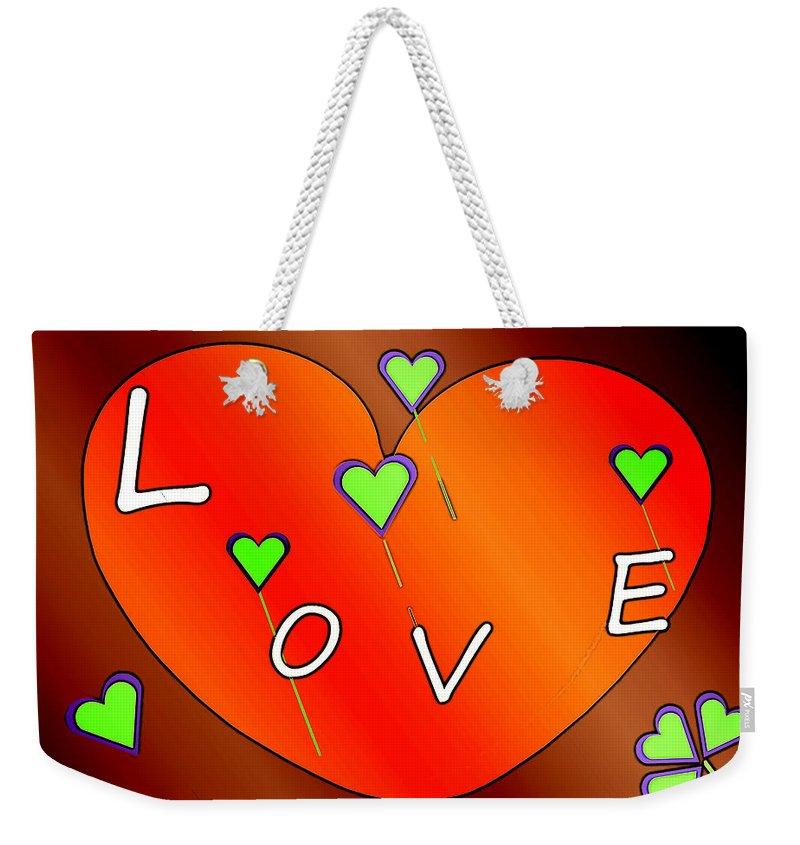 Gimp Paintings Weekender Tote Bags