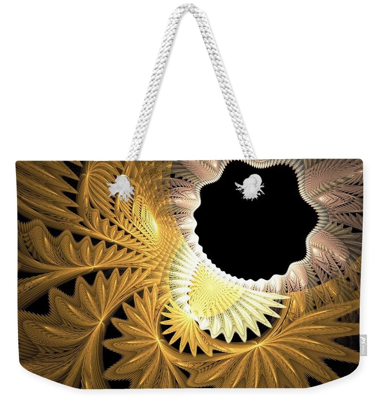 Still Life Weekender Tote Bag featuring the painting 0075 by I J T Son Of Jesus