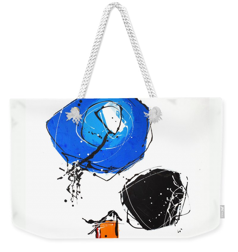 Painting Weekender Tote Bag featuring the painting 010815 by Toshio Sugawara
