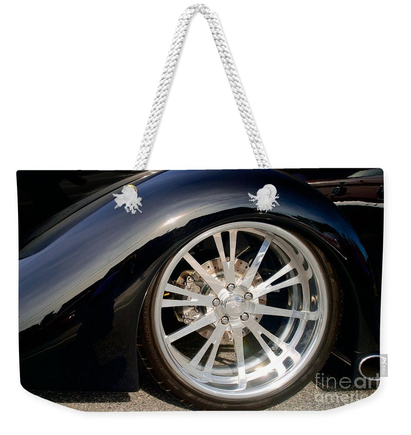 4th Annual Weekender Tote Bag featuring the photograph 1937 Ford Oze by Mark Dodd