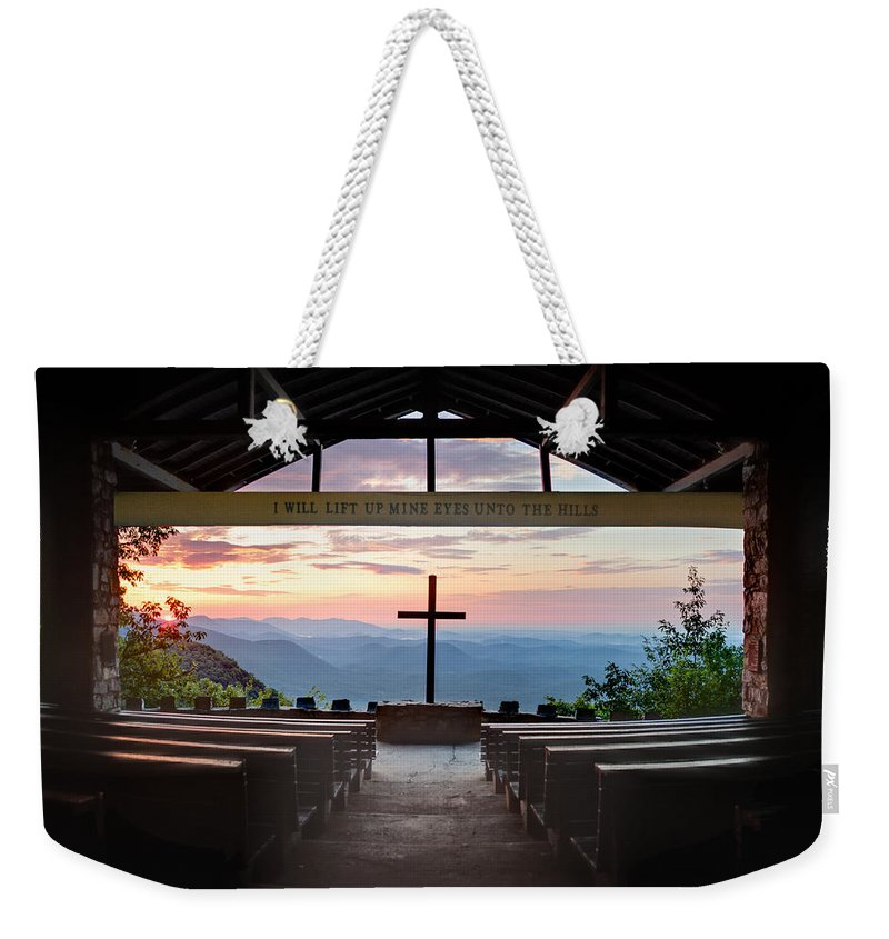Panorama Weekender Tote Bag featuring the photograph A Good Morning At Pretty Place by Rob Travis
