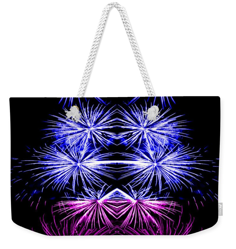 Original Weekender Tote Bag featuring the photograph Abstract 135 by J D Owen