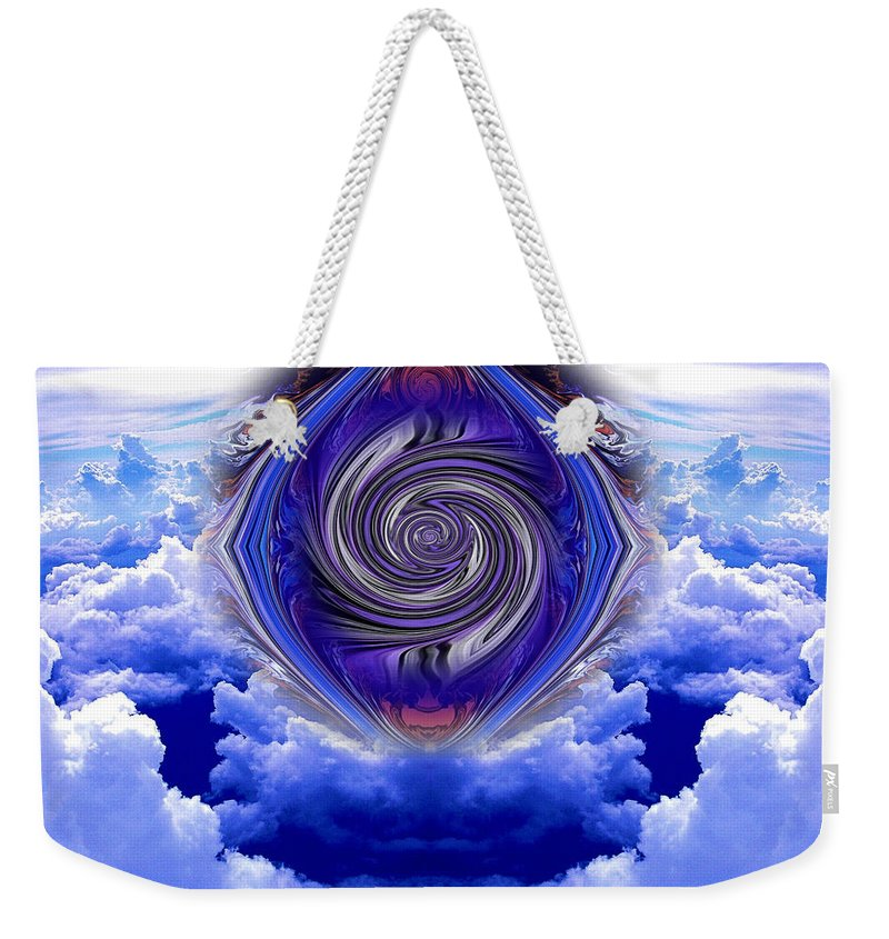 Original Weekender Tote Bag featuring the photograph Abstract 143 by J D Owen