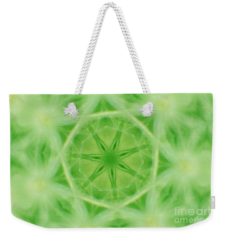 Abstract Weekender Tote Bag featuring the digital art Abstract by Dan Radi