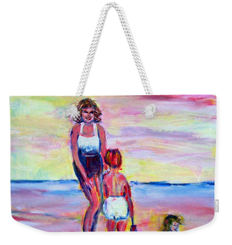 Girl Weekender Tote Bag featuring the photograph Afternoon Tide by Patricia Taylor